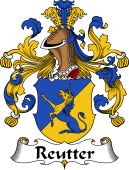 German Coat of Arms for Reutter
