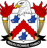 American Coat of Arms for Abercrombie