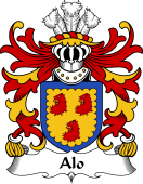 Welsh Coat of Arms for Alo (ab Ithel, King of Gwent)