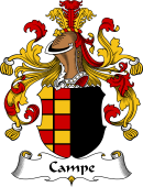 German Coat of Arms for Campe