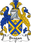 Irish Coat of Arms for Brogan or O'Brogan