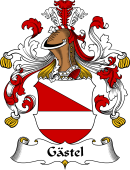 German Wappen Coat of Arms for Gästel