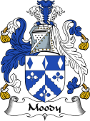 English Coat of Arms for Moody