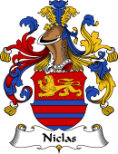 German Coat of Arms for Niclas