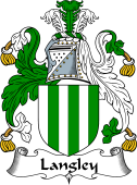English Coat of Arms for Langley