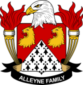 American Coat of Arms for Alleyne