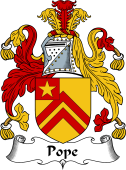 English Coat of Arms for Pope