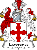 English Coat of Arms for Lawrence or Laurence