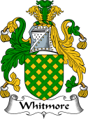 English Coat of Arms for Whitmore