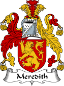 English Coat of Arms for Meredith