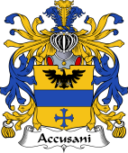 Italian Coat of Arms for Accusani