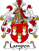 German Wappen Coat of Arms for Lampen