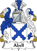 English Coat of Arms for Abell
