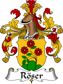 German Coat of Arms for Röser