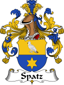 German Coat of Arms for Spatz