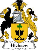 Irish Coat of Arms for Hickson