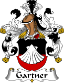 German Wappen Coat of Arms for Gartner