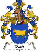 German Coat of Arms for Bach