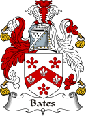 Irish Coat of Arms for Bates