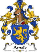German Wappen Coat of Arms for Arnold