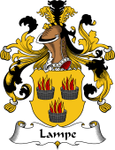 German Wappen Coat of Arms for Lampe