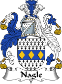 Irish Coat of Arms for Nagle