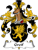 German Wappen Coat of Arms for Greif