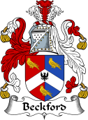 English Coat of Arms for Beckford