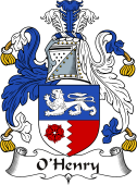 Irish Coat of Arms for O'Henry