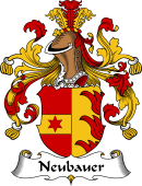 German Coat of Arms for Neubauer