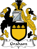 Irish Coat of Arms for Graham or Grahan