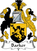 Irish Coat of Arms for Barker