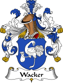 German Coat of Arms for Wacker