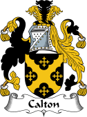 English Coat of Arms for Calton