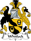 English Coat of Arms for Whitlock
