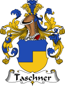 German Wappen Coat of Arms for Taschner