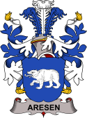 Danish Coat of Arms for Aresen