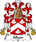 Coat of Arms from France for Allain