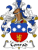 German Coat of Arms for Conrad