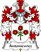 Polish Coat of Arms for Antoniewicz