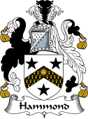 English Coat of Arms for Hammond