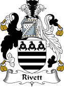 English Coat of Arms for Rivett or Riffett