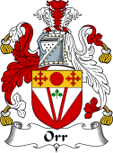 Irish Coat of Arms for Orr