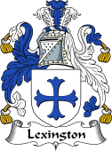 English Coat of Arms for Lexington