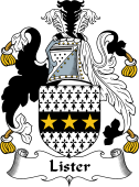 English Coat of Arms for Lister