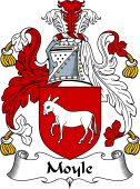 English Coat of Arms for Moyle