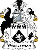 English Coat of Arms for Westerman
