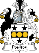 English Coat of Arms for Poulton
