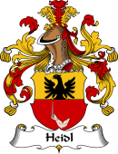 German Coat of Arms for Heidl