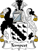 English Coat of Arms for Tempest